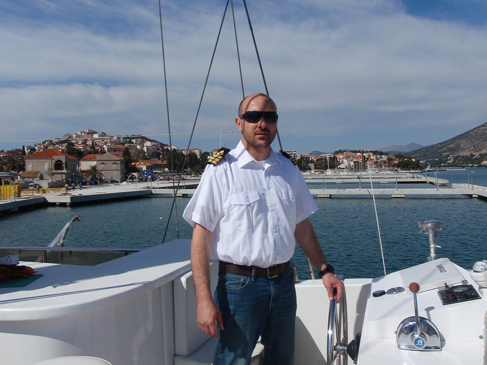 Gulet Adriatic Holiday Owner and Yacht master Ante Mazalin